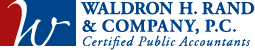 Waldron H. Rand & Company Logo